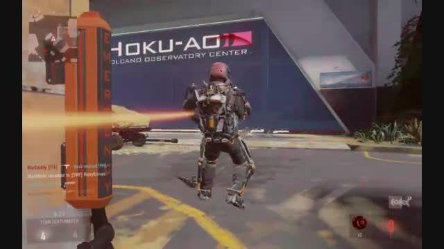 گیم پلی آنلاین خودم در بازی Call of Duty Advance Warfar