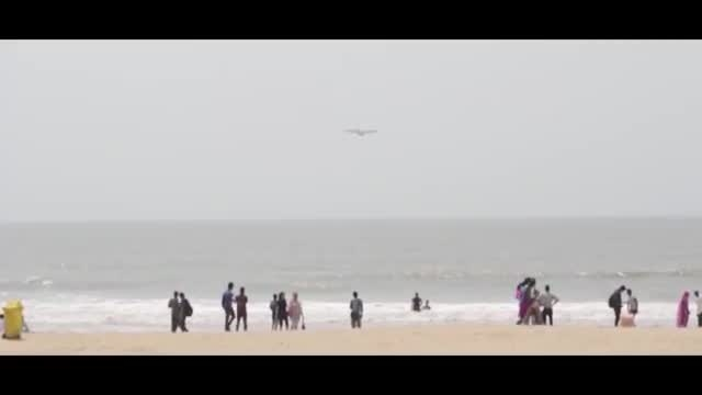 فرود هواپیمای هرکولسHercules C130J نیروی هوایی هند