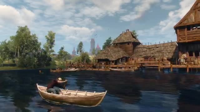 witcher 3 official gameplay trailer