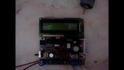 کنترل دور موتور با pwm  و تغییر در فرکانس