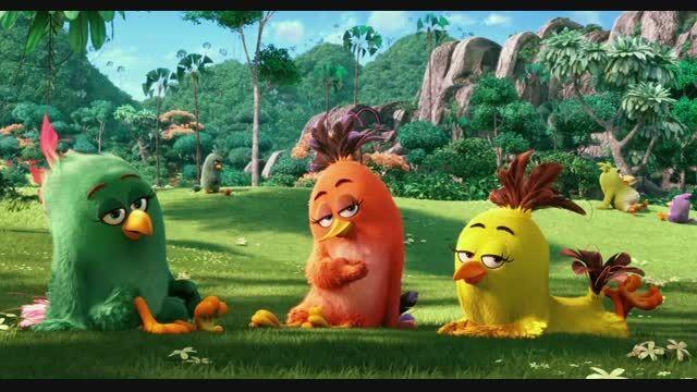 تریلر فیلم Angry Birds ( پرندگان خشمگین )