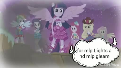 Pmv chandelier For mlp lights and mlp gleam - YouTube