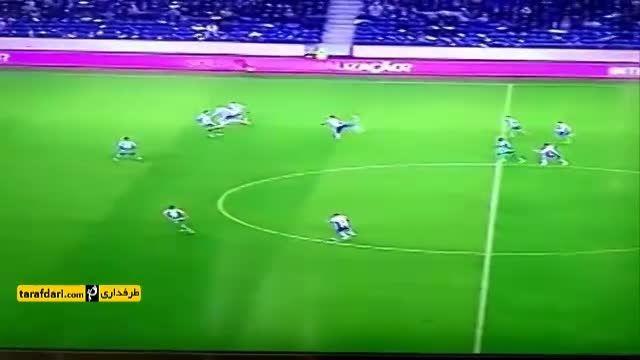 پاس گل استثنایی جکسون مارتینز در بازی پورتو و اسپورتینگ
