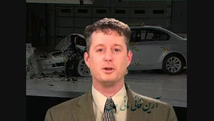 تست تصادف BMW 5 Series crash test