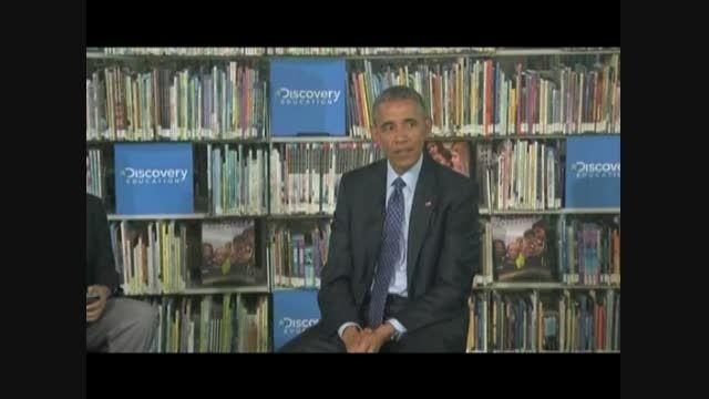 پر حرفی اوباما کار دستش داد