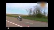 حركت دوچرخه با سرعت 260نبینی از دست دادی