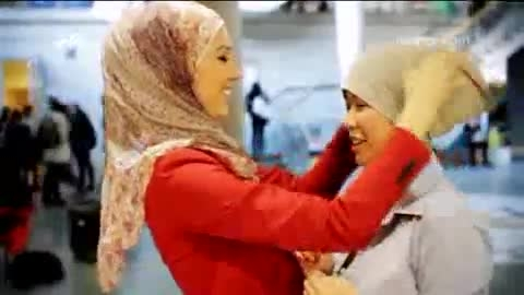 حجاب دختران اروپایی