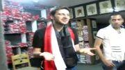 سامی یوسف در بین هواداران مصری در قاهره