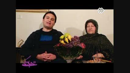 مصاحبه زنده با مادر پیام بالاخانی خواننده صدا و سیما