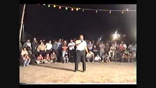 اجرای قدیمی هنرمند محبوب علی براتی در روستای برغمد