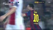 گل های بازی بارسلونا 3 - 1 آژاکس