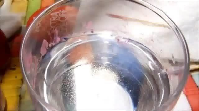 آموزش دیزاین وطراحی گل باآب روی لاک ناخن