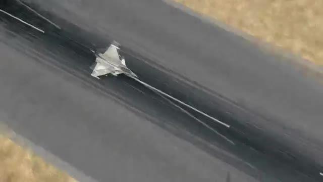 جنگنده رافال برای شبیه ساز پرواز الماس