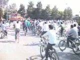 حضور دکتر تابش در همایش دوچرخه سواری در اردکان
