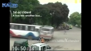 تصادف وحشتناک اتوبوس با مینی بوس...!