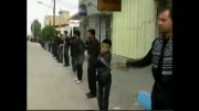 عزاداری روز عاشورای 93 هیئت عزاداران امام حسین فراشبند