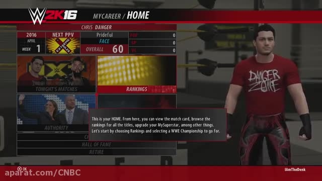 "WWE 2K16 My Career Mode - Ep. 1 - ""WELCOME BACK ..."