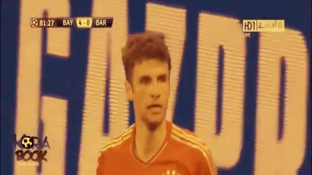 بایرن مونیخ 4-0 بارسلونا (لیگ قهرمانان اروپا 2013)