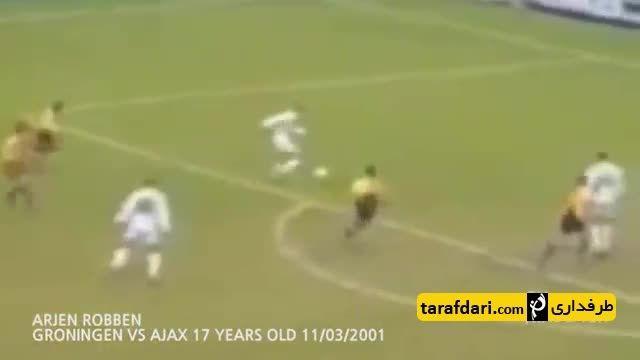 اولین گل ستارگان فوتبال (بخش اول)