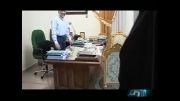 دکتر سعید جلیلی در محل کار خود(شورای امنیت ملی) 2 روز بعد از انتخابات 92