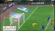 خلاصه بازی استقلال 0-1 فولاد خوزستان