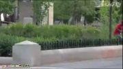 پخش مواد شیمیایی در شهر(دوربین مخفی)