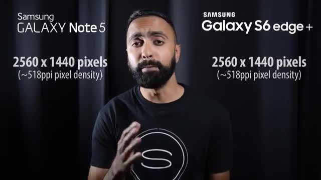 بررسی و مقایسه گوشی های Note 5 و S6 Edge Plus سامسونگ