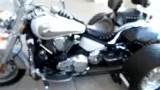 2007 Vulcan 2000cc voyager trike Vance and Hines Exhaust for