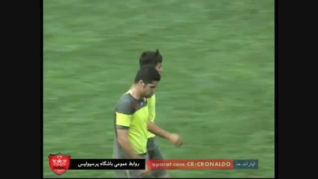 گل های بازی : پرسپولیس 3 - 0 پرسپولیس قائمشهر