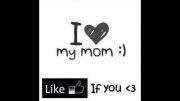 اگه مامانتو دوس داری لایک کن ..اگه عاشقشی یه قلب بزار