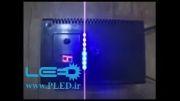 فلاشر تابلو LED ثابت همراه 9  منوی مجزا و دارای نمایشگر