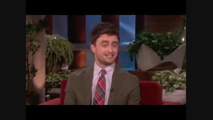 Daniel Radcliffe on His Crush on Katy Perry on Ellen