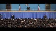 بیانات رهبر انقلاب در دیدار با دانش آموزان و دانشجویان-قسمت1