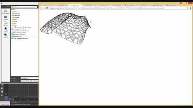 معرفی و آموزش اسکریپت های Pro Voronoi و 3D Panel Gen