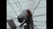 حادثه وحشتناک از برق گرفتن و آتش گرفتن!!!