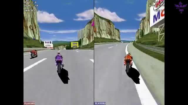 گیم پلی بازی Moto Racer 2