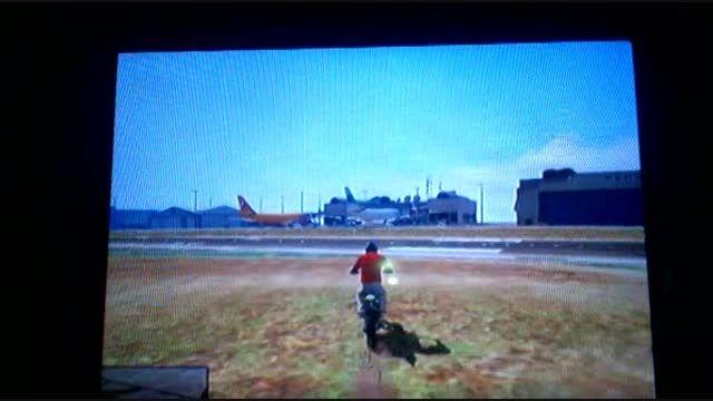 اموزش سوار شدن هواپیما هائ فرودگاه در بازی V