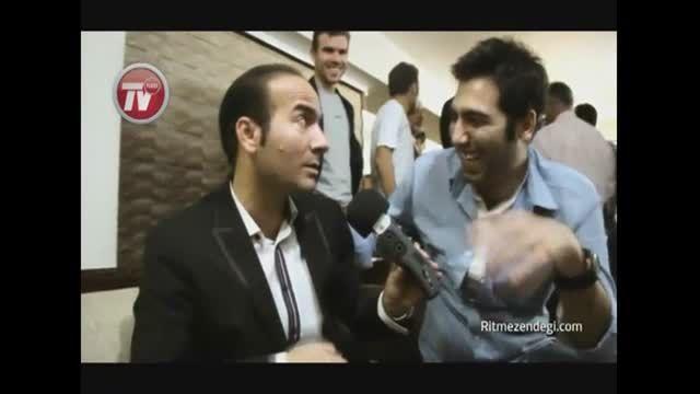 پشت صحنه ی خنده دار اجرای محمد علیزاده و حسن ریوندی