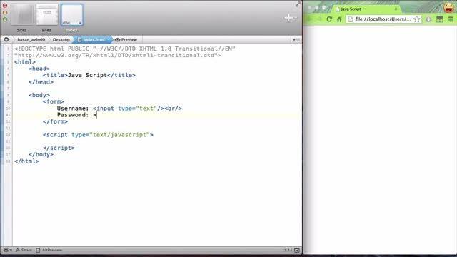 ۳۸- دسترسی به فرم ها در جاوااسکریپت (JavaScript)
