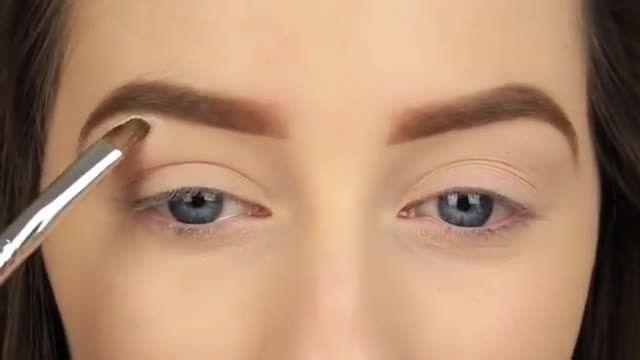 آموزش آرایش لایت و ملایم چشم