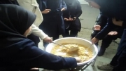 پخت حلوای به مناسبت عاشورا