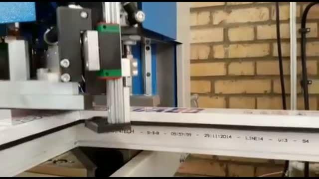 دستگاه جوش دو سر سیستم لاستیک دار (نصب شده در راینو)