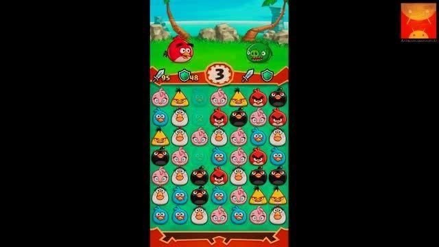 گیم پلی بازی اندرویدی Angry Birds Fight! بخش اول