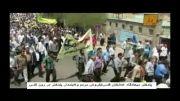 خروش ملت ایران در روز قدس/کودکان صف اول راهپیمایی قدس