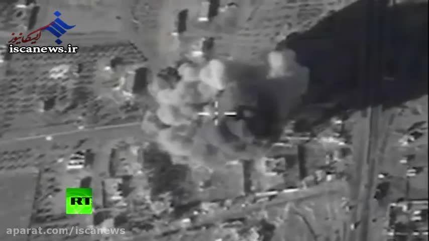شلیک زیردریایی روسیه از دریای مدیترانه به سمت داعش