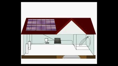 کلیپ جالب : اینجا با خورشید خانه خود را گرم کنید