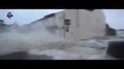 سیل و طوفان بی سابقه در انگلستان + فیلم