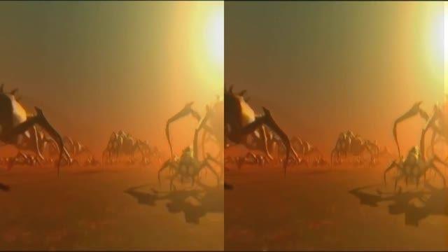 انیمیشن کوتاه 3 بعدی Alien Safari
