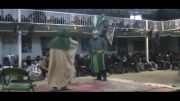 تعزیه سال 1389 : اجازه خواستن علی اکبر از امام حسین