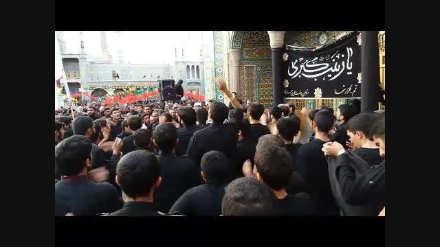 دسته عزای شهادت حضرت زین العابدین علیه السلام
